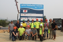 CHBA CI and TRU School of Trades Kick Off 2018 Training House Project
