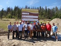 CHBA CI and TRU School of Trades Kick Off 2017 Training House Project