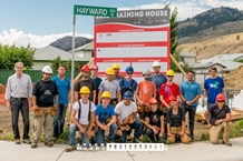 CHBA CI and TRU School of Trades Kick Off 2016 Training House Project